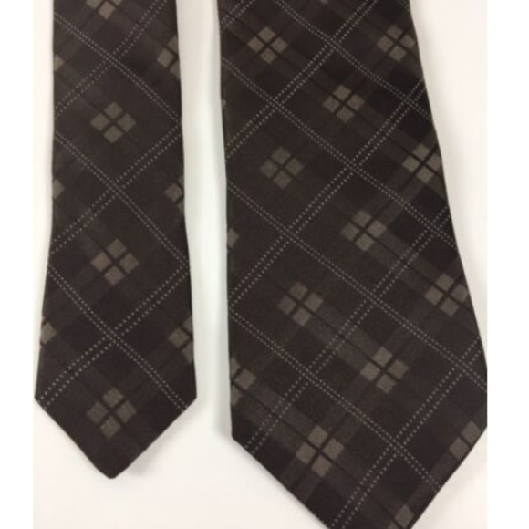 Michael Kors Other - Michael Kors Silk Tie Necktie Checks 100% USA Made